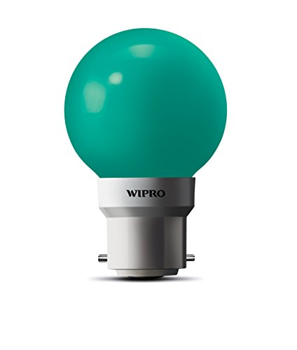 Wipro-0.5W-LED-Bulb-(Green-,-pack-of-6)