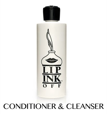 LIP INK OFF - Natural Organic Makeup Cleanser and Remover