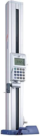"Mitutoyo 518-223 High Precision Absolute Digital Height Gauge, 0-600mm Range, 0.005mm Resolution, +/-0.00011+.0002xL/ 40"" Accuracy, 27kg Mass"