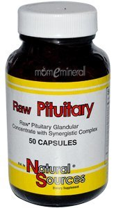 Raw Pituitary, 50 Capsules by Natural Sources