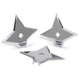 Ninja Tacks Push Pins 手裏剣型ピン(3個入)【並行輸入品】
