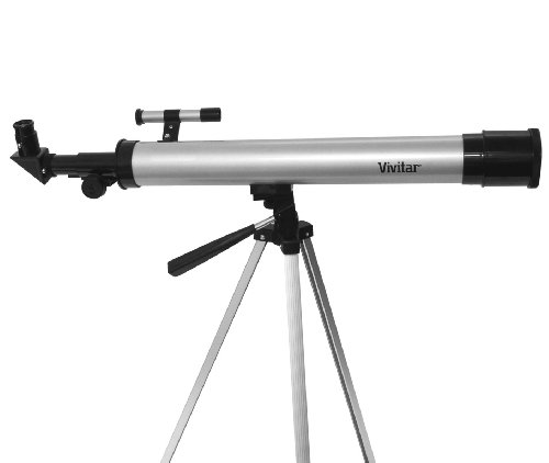 Great Features Of Vivitar TEL50600 60X/120X Telescope Refractor with Tripod (Black)