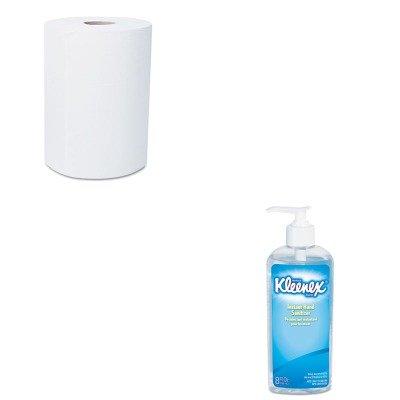 Kitkim12388Kim93060Ea - Value Kit - Kimberly Clark Scott Slimroll Hard Roll Towels (Kim12388) And Kimberly Clark Kleenex Instant Hand Sanitizer (Kim93060Ea) front-1047208