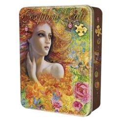 MasterPieces Puzzle Company Summer Breeze Collectible Jigsaw Puzzle Tin (1000-Piece), Art by Josephine Wall by MasterPieces