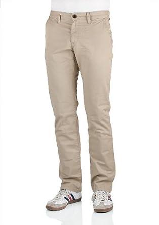 Tom Tailor Herren Chino Hose Marvin 6400725.09.10 Slim Fit beige
