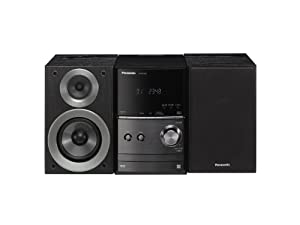 Panasonic Audio System for iPod/iPhone with CD Playback, Black (SC-PM500K)