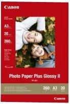 Canon PP-201 Photo Paper Plus 260gsm Glossy A3 Ref 2311B020 [20 Sheets]