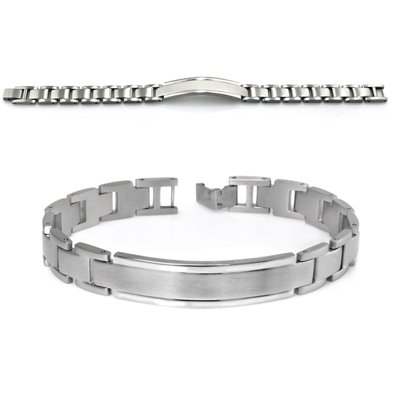 Mens Bracelet In Stainless Steel
