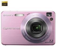 Sony - Cyber-shot DSC-W120 pink
