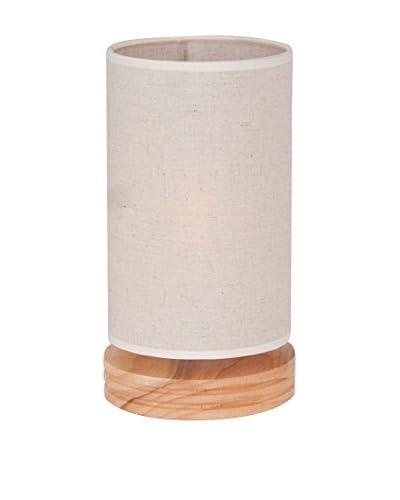 Homemania Lampada Da Tavolo Wood Legno