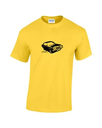 Ford Cortina Old School T-Shirt (Small, Yellow)