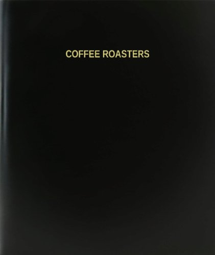 "Bookfactory® Coffee Roasters Log Book / Journal / Logbook - 120 Page, 8.5""X11"", Black Hardbound (Xlog-120-7Cs-A-L-Black(Coffee Roasters Log Book))"
