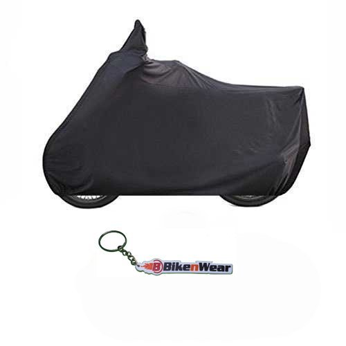 BikeNwear Water Proof Body Cover For Royal Enfield Bullet Standard -black With Key Chain