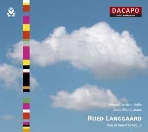 Langgaard - Violin Sonatas, Vol 2