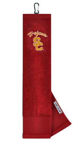NCAA USC Embroidered Tri-Fold Golf Towel at Amazon.com