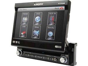 Xzent XT7012 Moniceiver (ausfahrbarer Monitor , 16:9)