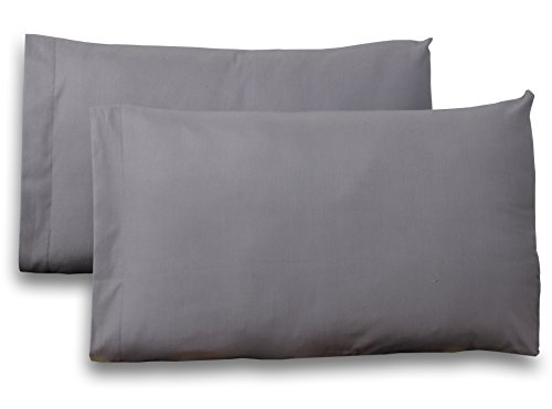 Queen-Pure-Cotton-Sateen-Pillow-Case-Covers-2-Pack-each-20-inches-x-30-inches-Grey-100-Cotton-Sateen-for-Maximum-Softness-and-Easy-Care-Elegant-Double-Stitched-Tailoring-by-Utopia-Bedding