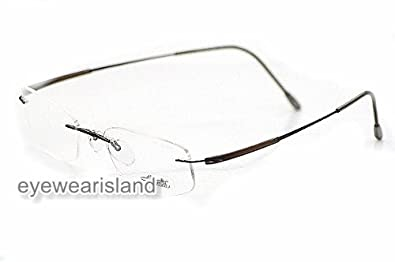 Silhouette Titan Dynamics Eyeglasses 7719 November Chestnut 6054 (Bridge-17 Temple-130)