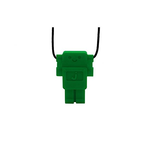 Jellystone Robot Pendant Teether - Grassy Green (Jellystone Robot Teether compare prices)