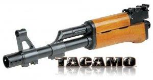 Tacamo AK47 Wooden Barrel Kit for Tippmann A-5 - paintball barrel