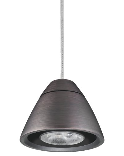 Lithonia Mdpb Bz M6 Bullet Led Mini-Pendant Fitter, Bronze