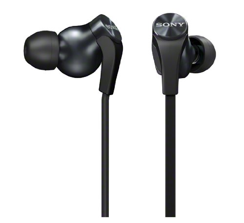 Sony Mdr-Xb60Ex-B Black | In-Ear Extra Bass Headphones (Japanese Import)