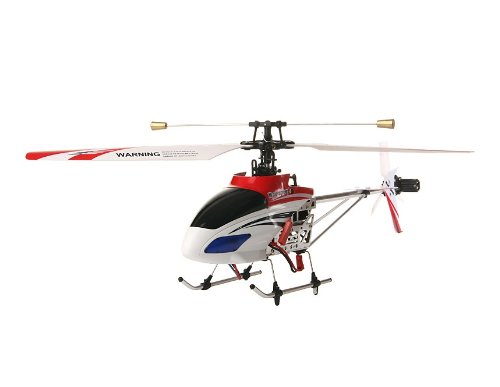 2.4G Four-Channel Metal Version Remote Control Helicopter with Gyroscope