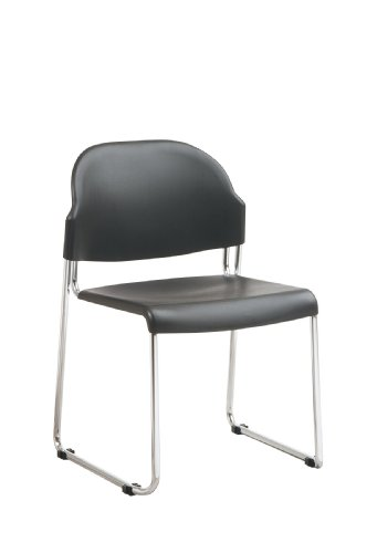 Stacking Chairs- 2 Pack Gray