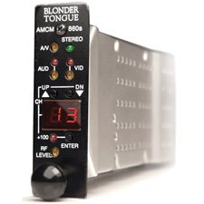 Blonder Tongue Amcm-860Ds Modular Agile Stereo Audio/Video Modulator (He Series)-By Blonder Tongue