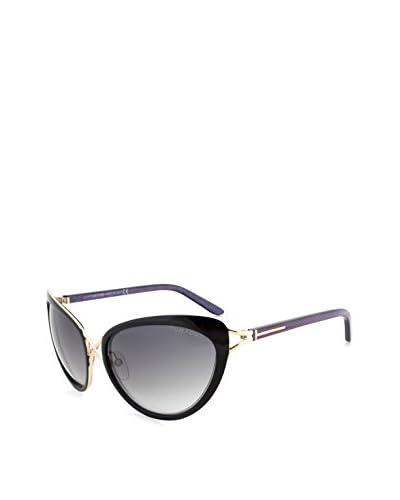 Tom Ford Women's Daria Cateye Sunglasses, Black/Gold