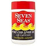 7 SEAS COD LIVER OIL CAPS Size: 120