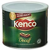 Brand New. Kenco Decaffeinated Instant Coffee Tin 500g Ref A00605