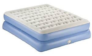 AeroBed Classic Double-High Mattress with Pump, Queen by Aero