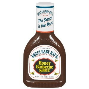 Sweet Baby Rays Honey Barbecue Sauce (Pack Of 2)