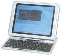 HP Compaq Tablet PC TC1100 - Pentium M 1 GHz ULV - RAM 512 MB - HDD 40 GB - GF4 420 Go - WLAN : 802.11b - Win XP Tablet PC - 10.4 TFT 1024 x 768 ( XGA )