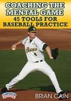 Brian Cain: Coaching the Mental Game: 45 Tools for Baseball Practice (DVD) by Championship Productions