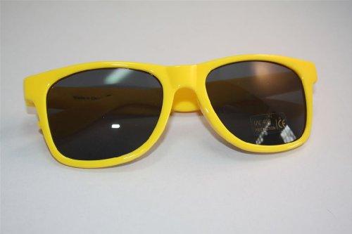 Bacardi Razz Nerd occhiali giallo occhiali da sole UV400