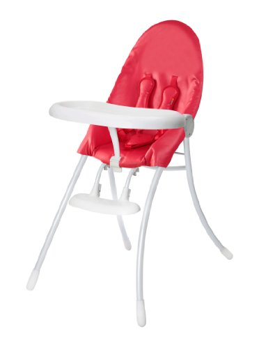 Bloom Nano Urban Highchair, Matt White/Rock Red - 1