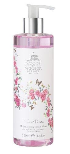 Woods of Windsor True Rose Moisturising Wash a mano 350ml, 1er Pack (1x 350ml)