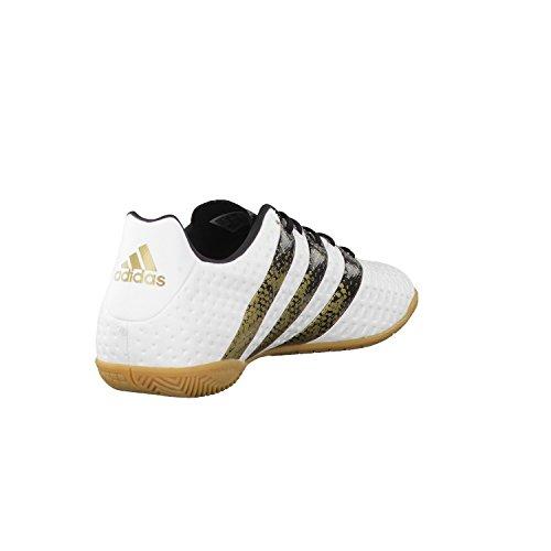 adidas Herren Ace 16.4 in Fußballschuhe, Blanc Cassé-Blanco (Ftwbla / Negbas / Dormet), 46 2/3 EU -