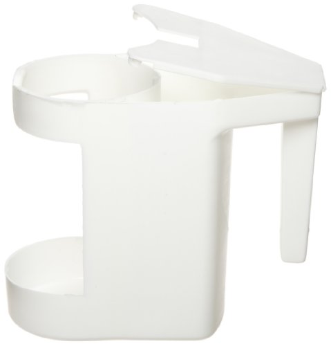 Zephyr Manufacturing Zephyr 18801 White Plastic Bowl Mop Caddy (Pack of 12) at Sears.com