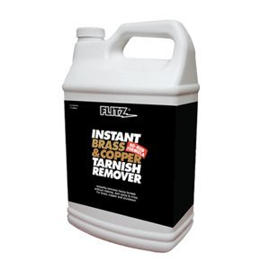Flitz Bc 01810 Instant Brass And Copper Tarnish Remover - 1 Gallon Refill Bottle
