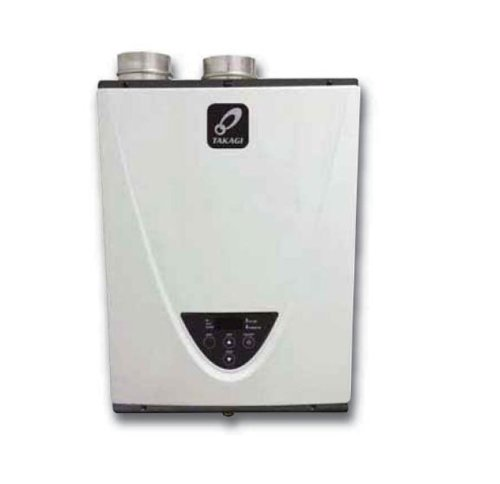 Takagi T-H3J-Dv-P Condensing High Efficiency Propane Indoor Tankless Water Heater, 6.6-Gallon Per Minute