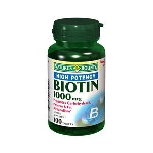Special Pack Of 5 Natures Bounty Biotin 1000Mcg 7961 100 Tablets