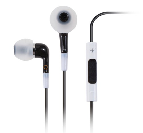 I-Blason Colorbeat Series Premium Headphones Headsets Earbuds Earphones With Microphone And Volume Control For Apple Iphone 5 Iphone 3G 3Gs 4 4S Ipod Touch 5G Itouch Ipad Nano 7G New Ipad 4 Ipad Mini Ipad 2 Ipad 3 (Multi-Color Available) (Black!#)