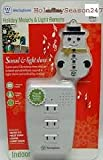 Westinghouse Holiday Melody & Light Remote - Indoor - 3 outlets - snowman