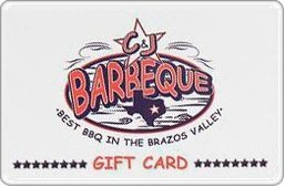 C&J Barbeque Gift Card ($10)