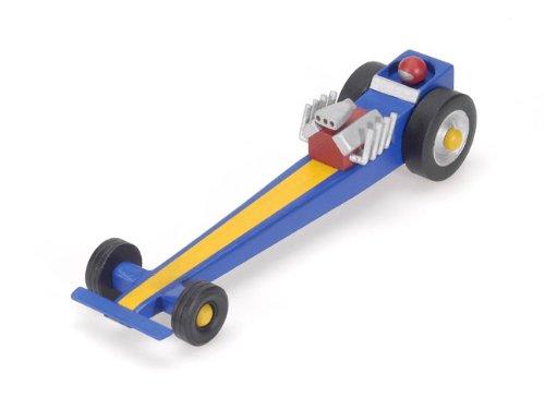 Darice 9179-88 Deluxe Wooden Drag Racer Kit