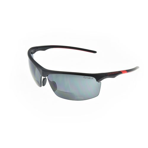 Optx 20/20 Eyedefend Outrigger Safety Glasses, Black with Re