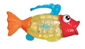 Game / Play Munchkin Twisty Fish Bath Toy, Water Way With Tumble Beads And Spinner Wheel, Water Sprinkles Toy / Child / Kid